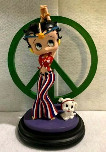 Betty Boop by Characters Collectibles - Hippy Betty - New without Box
