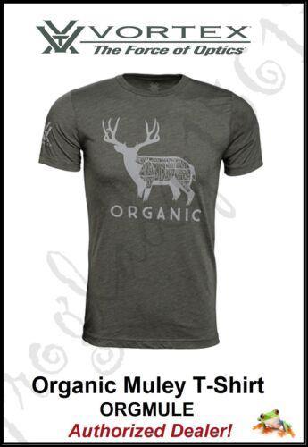 VORTEX OPTICS Organic Muley T-Shirt - ORGMULE - Authorized Vortex Dealer!