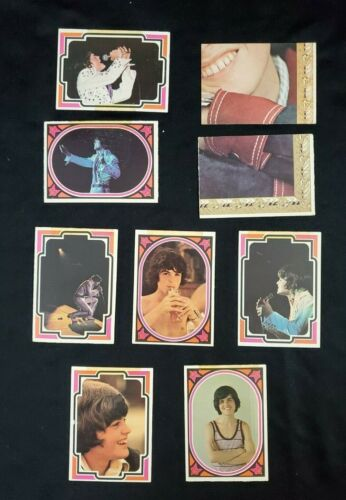 VINTAGE 1973 OSMOND COLLECTOR CARDS DONNY OSMOND RARE PUZZLE PIECES