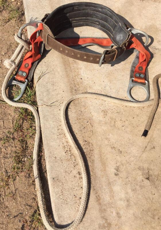 Buckingham Climbing Safety Belt Medium With Rope