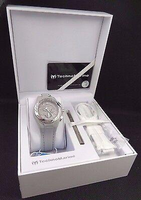 Technomarine 113017 Cruise Locker Sparkling Diamond Chronograph Watch $1,100