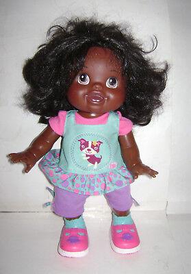 HASBRO Baby Alive African American Wanna Walk Interactive Talking Walking Doll for sale  Cumming