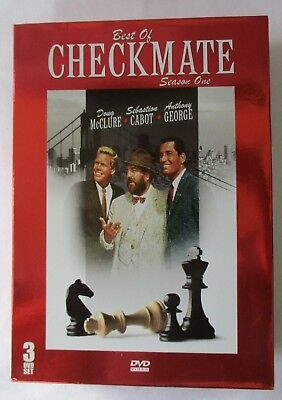 THE BEST OF CHECKMATE SEASON 1 ONE - 3-DVD BOX SET