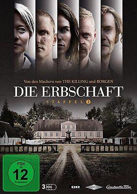 Die Erbschaft - Season/Staffel 2 # 3-DVD-BOX-NEU