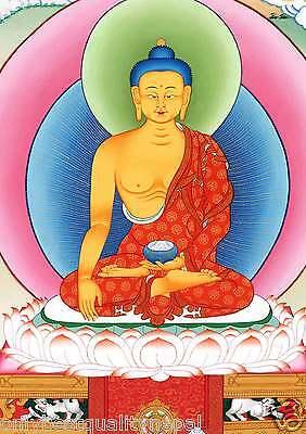 Buddha Shakyamuni Thangka Gautama