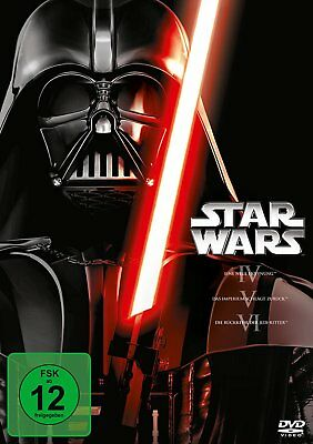 Star Wars Trilogie - Episode IV-VI (4+5+6) # 3-DVD-BOX-NEU