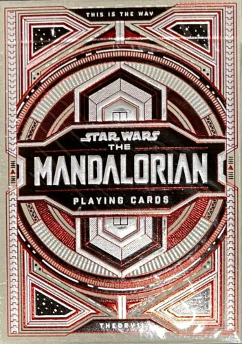 Star Wars The Mandalorian Playing Cards Din Djarin by Theory11 Poker Magic