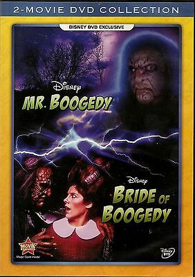 Disney Channel Sunday Movie Mr. Boogedy & Bride of Boogedy 2 Movie Pack on DVD - Classic Halloween Movies Family