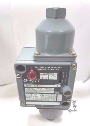 Allen-Bradley 836T Pressure Difference Control A-B Quality
