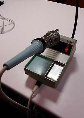 Used Weller Wtcp Series Soldering Station Power Unit Tc202 And Soldering Pencil.