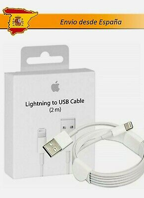 Cable de carga USB para iPhone, Cable de carga Lightning MD819 para...