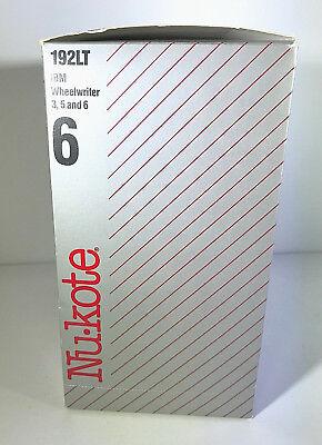 Set Of 6 Nu-kote Model 192lt Lift-off Tape Ibm Wheelwriter 3 5 6 New In Box