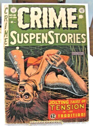Crime Suspenstories # 19 1953 EC