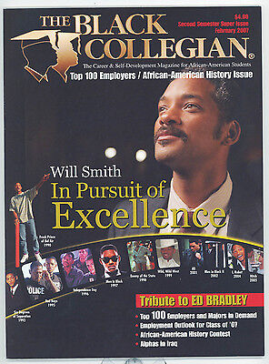 WILL SMITH 2007 Black Collegian Magazine Pursuit of Excellence ED BRADLEY