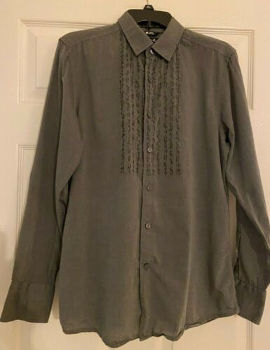 "RARE BOWIE BY KEANAN DUFFTY SHIRT, GRAY, ""LET"
