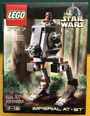 "LEGO® STAR WARS™ Original ""IMPERIAL AT-ST"" 7127 w Endor  CHEWBACCA_SEALED"