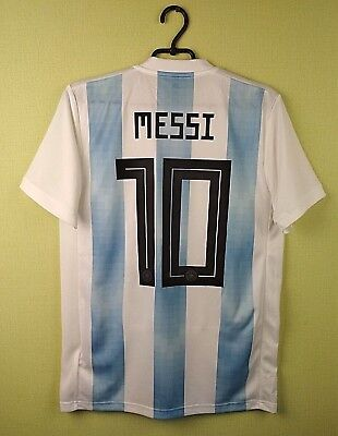 Messi jersey Argentina 2018 Small shirt Home official adidas football socer d567a1f07900c