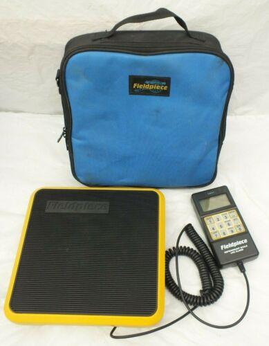 Fieldpiece SRS1 Light Commercial Refrigerant Scale w/ Padded Case 0-110 lbs