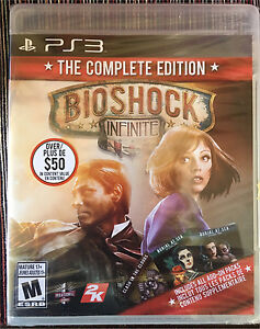 Bioshock Infinite: The Complete Edition PS3 (Sealed)