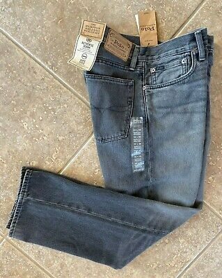 Polo Ralph Lauren Jeans 36 32 Hampton Relaxed Straight Black Wash Rope Dyed NWT (Mexico Polo Ralph Lauren)