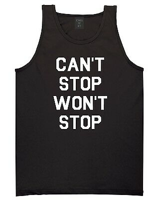 Kings of NY Cant Stop Wont Stop Tank Top T-Shirt Jersey Hiphop Music NYC