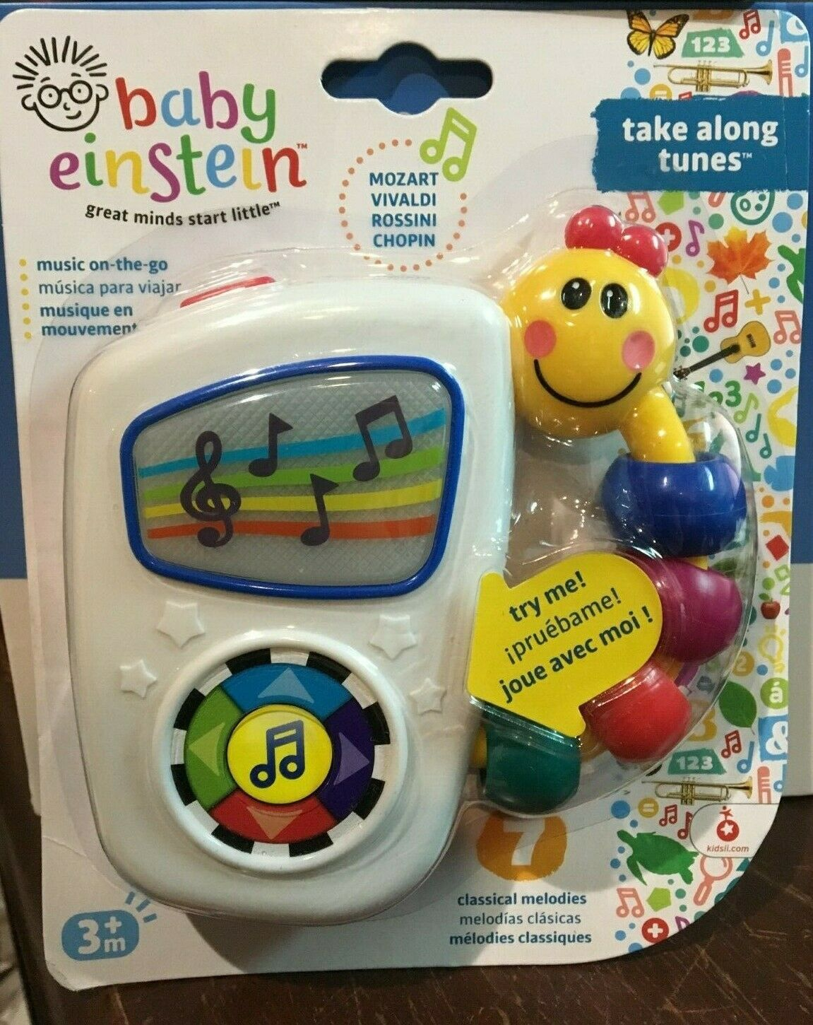 Baby Toddler Kids Infant Einstein Take Along Tunes Musical T