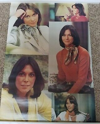 Rare vintage CHARLIE'S ANGELS poster of Kate Jackson - 1977 - NEW in sleeve