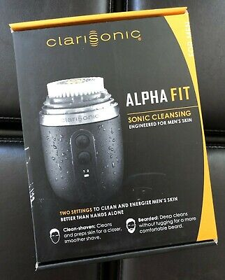 Clarisonic Alpha Fit Men's Sonic Skin Cleansing System Beard Cleansing- READ!!!