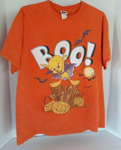 Vintage looney Tunes Tweety Halloween BOO! Shirt
