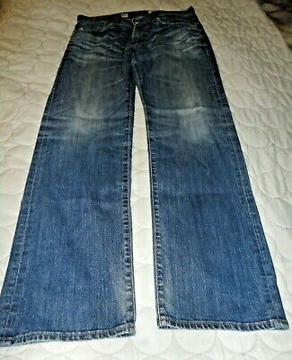 AG Adriano Goldschmied Men's The Protege Straight Leg Jeans Size 33 X 34