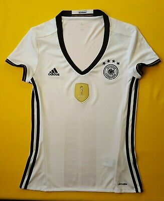 73f8eaf43e9 5+/5 Germany women jersey small 2016 home shirt AA0137 Adidas soccer ig93