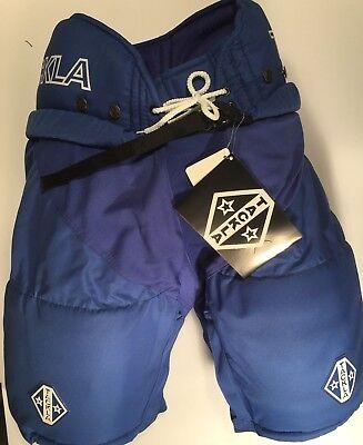 Ice Hockey Sr Pant Royal Tackla Model 9000 with leg zippers,  Sr Size Large