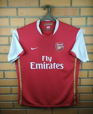 156a05373 Arsenal jersey XL 2006 2008 home shirt 146769-616 soccer football Nike