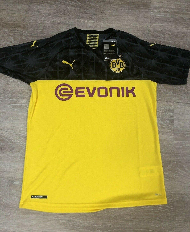 New Puma Borussia Dortmund Stadium Cup Jersey Men S Large Quick Shipping