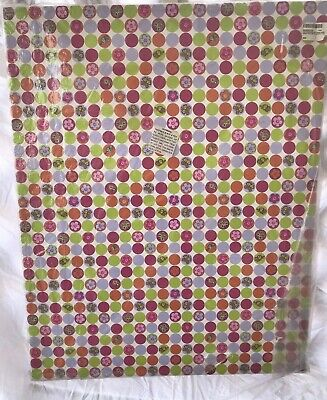 "Kess Inhouse Julia Grifol Happy Circles Outdoor Canvas Wall Art 24""x30"""