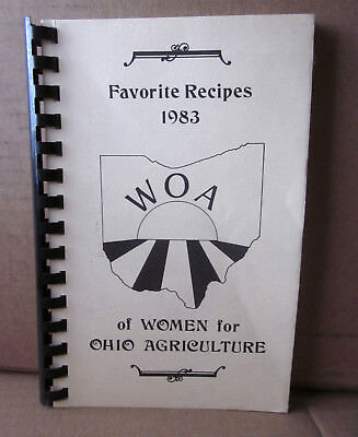 Women For Ohio Agriculture Cookbook 1983 Kabisuppe Recipes Crustworthy Meatloaf
