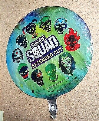 """DC Comic 2016 18"""" Mylar Promo Balloon Suicide Squad Extended Cut  Harley Quinn"""