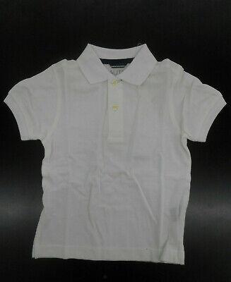 Toddler Boys Nautica $29.50 White Polo Shirt Sizes 2T & 3T