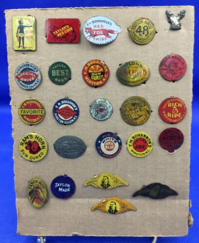 Lot of 25 North Carolina Tobacco Tags
