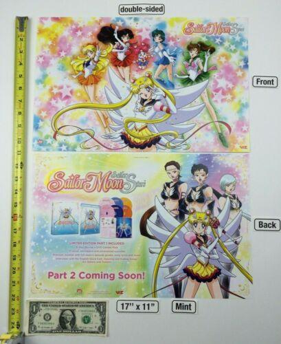 Sailor Moon Sailor Stars 17 x 11 Poster 2019 NYCC VIZ Media