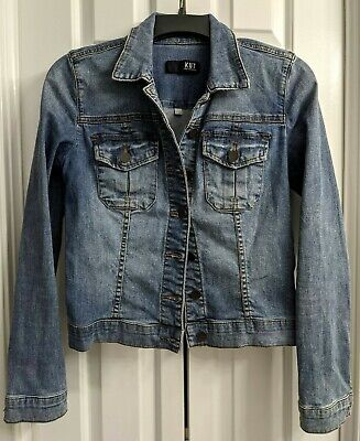 Kut From The Kloth Womens Blue Denim Jean Jacket Size Xs Preowned