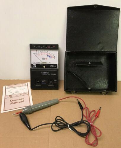 TIF IT990 Megohmmeter-Insulation Tester, 500V