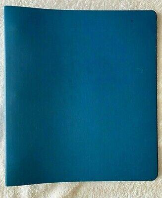 Vintage Norcom 1 Blue Three-ring Binder 3 Ring Binder