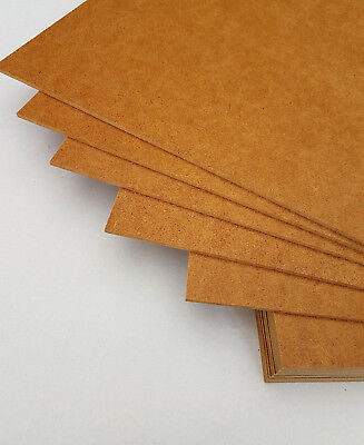 3mm Hartfaserplatte HDF- Platte DIN A3 Malen Werken Modellbau Holz basteln Top