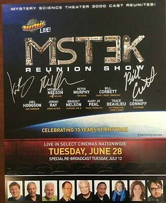 Autographed - Mystery Science Theater Reunion Poster!