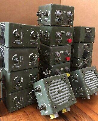 Harris Military Loudspeaker Amplifier Rf-5980-sa001 10181518001 Sincgars