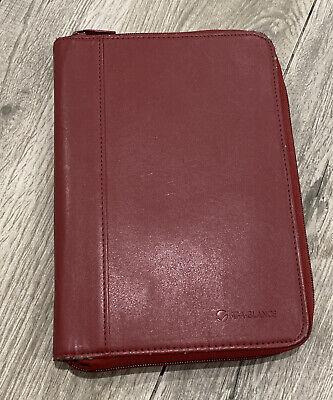 At A Glance Padfolio Folder Wallet Mini 6 X 9 Binder Notepad Holder Small