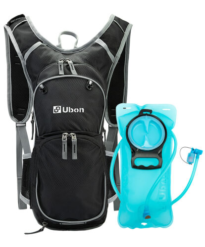 Ubon 10L Hydration Backpack with Water Bladder 2L Cycling Pack Hydration Carrier