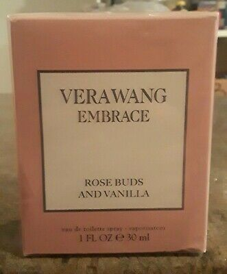 Vera Wang Embrace Rose Buds and Vanilla Eau de Toilette Spray 1 oz. New (H)