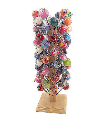 Lollipop and Cake Pop Display Stand 72 hole Holder Solid Wood (Cake Pop Holders)